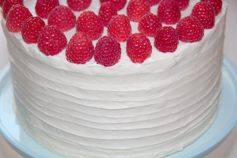 Ribboned Red Velvet Cake