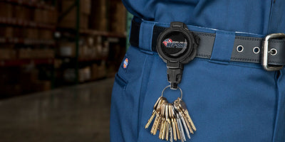 LOCK48 is Latest Addition KEY-BAK Retractable Keychains