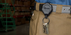KEY-BAK Introduces the Ratch-It Retractable Keychain