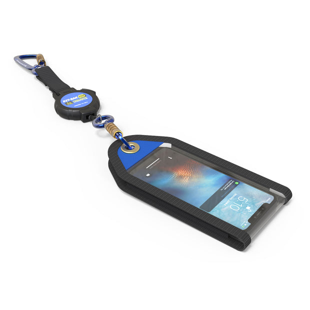 Smartphone Jacket Tool Attachment and Retractable Tool Lanyard Combo