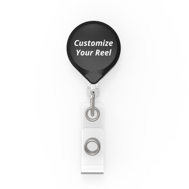 MINI-BAK® Retractable Badge Holder with Custom Logo Printing