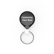 MINI-BAK® Retractable Key Holder with Custom Logo Printing