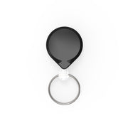 MINI-BAK Retractable Keychain with Clip on or Belt Clip and Key Ring