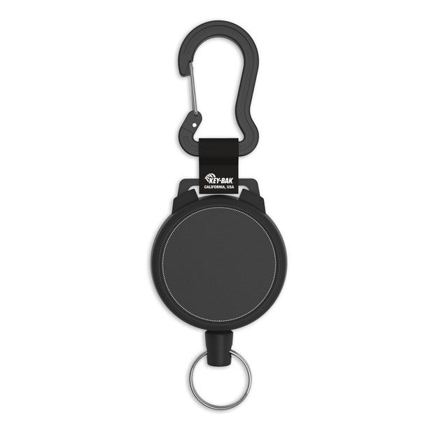 SECURIT Heavy Duty Retractable Carabiner Keychain with Custom Logo Printing