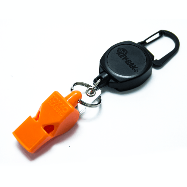 Retractable Fox 40 Safety Whistle