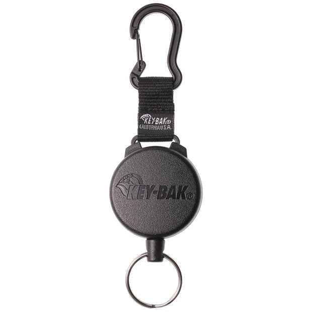 KEY-BAK SECURIT Heavy Duty Retractable Carabiner Keychain