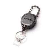SIDEKICK® Twist-Free Carabiner Retractable Keychain and Badge Reel That Holds Up to 5 Keys and ID Badge