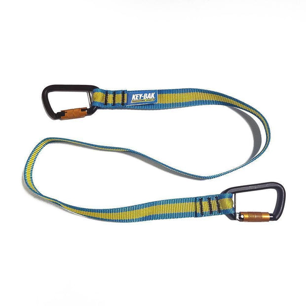 10 lb. Carabiner Tool Lanyard for Dropped Object Prevention with Dual Carabiner ENds