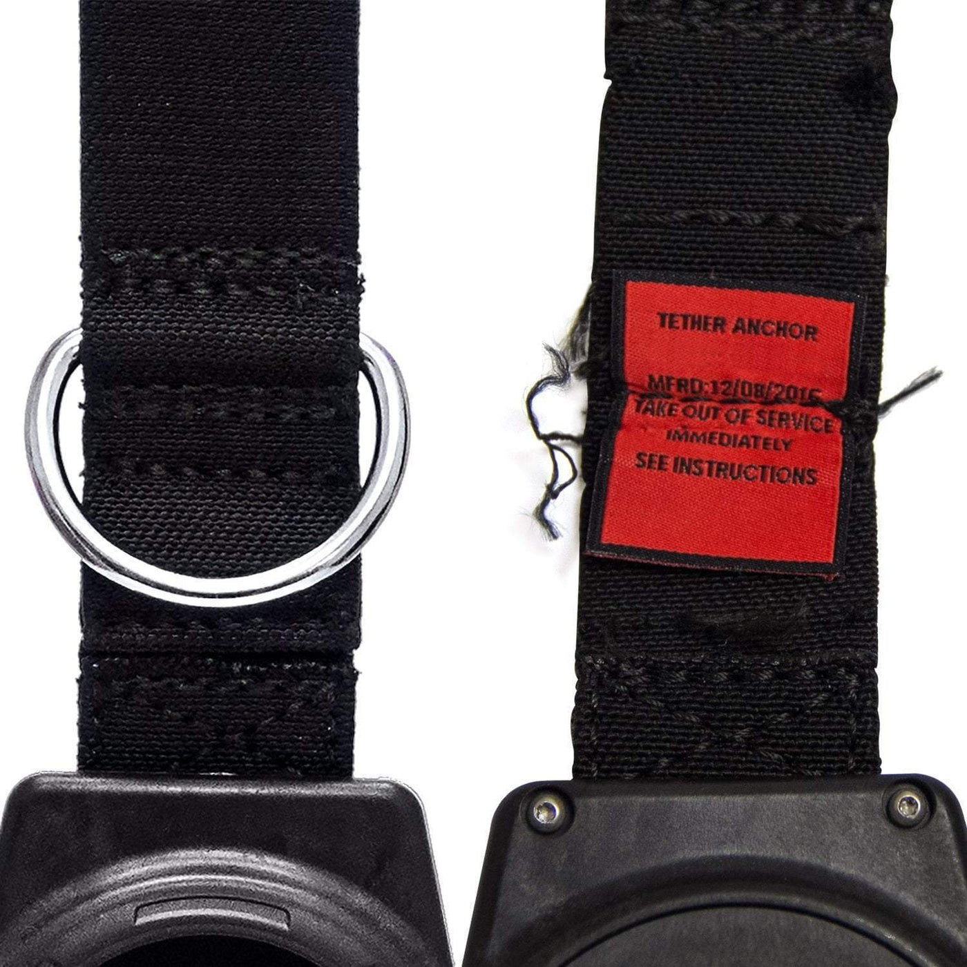 5 lb  Retractable Tool Lanyard for Dropped Object Prevention with Carabiner  Attachment