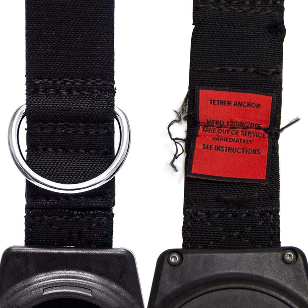 5 lb. Retractable Tool Lanyard for Dropped Object Prevention with Carabiner Attachment