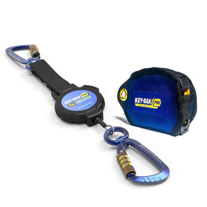 Toolmate Rewinding Tool Tether - ToolMate ANSI Certified 1 Lb. Retractable Tool Tether With Tape Measure Jacket Kit