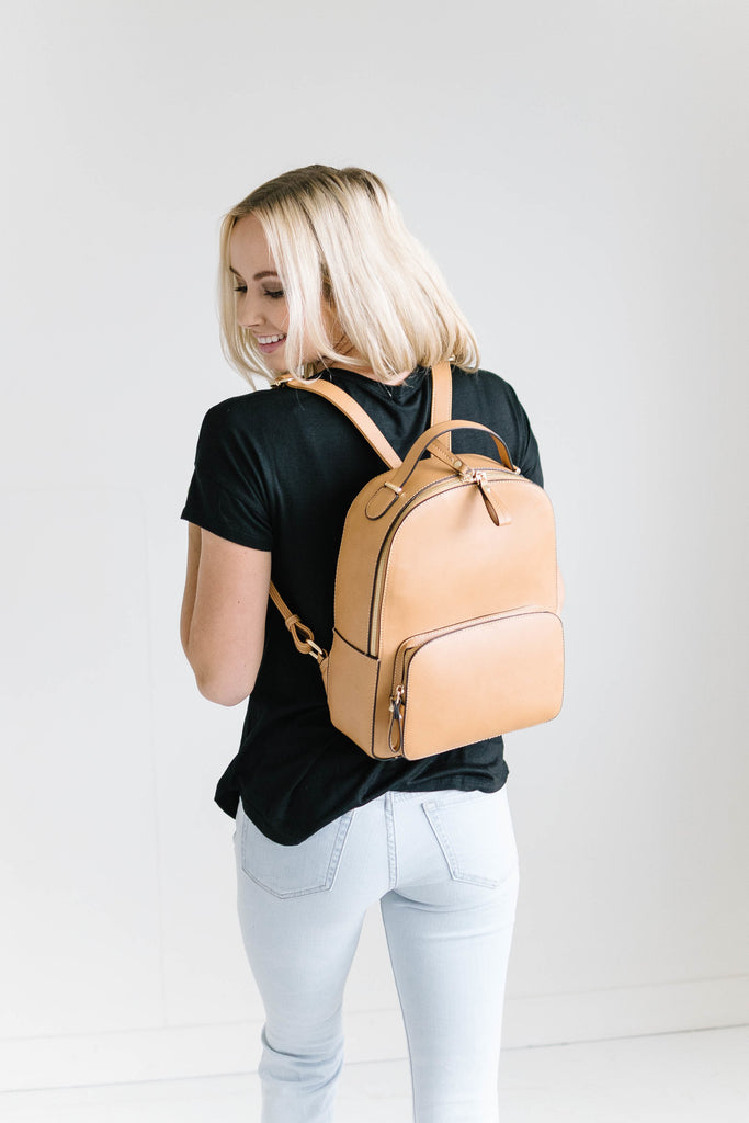 Bryce Backpack in Camel
