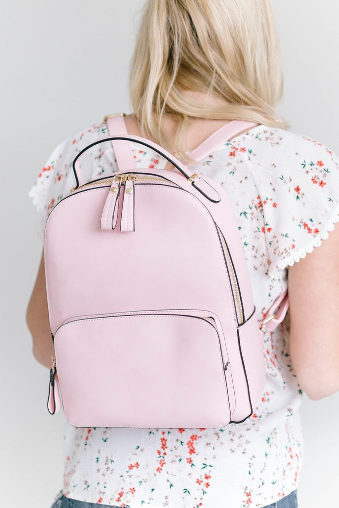 Bryce Backpack in Pink