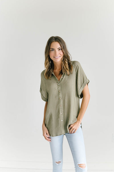 Catch Up Shimmer Top