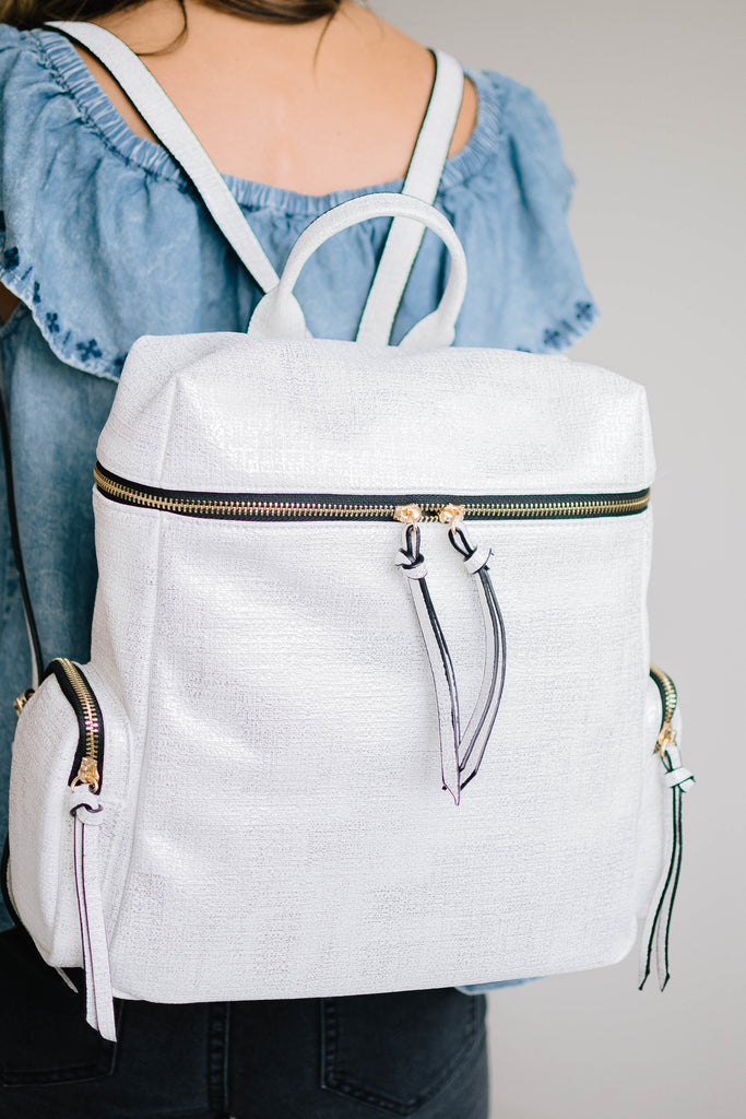 Journey Backpack in White