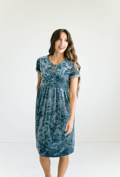 Rory Dress in Teal
