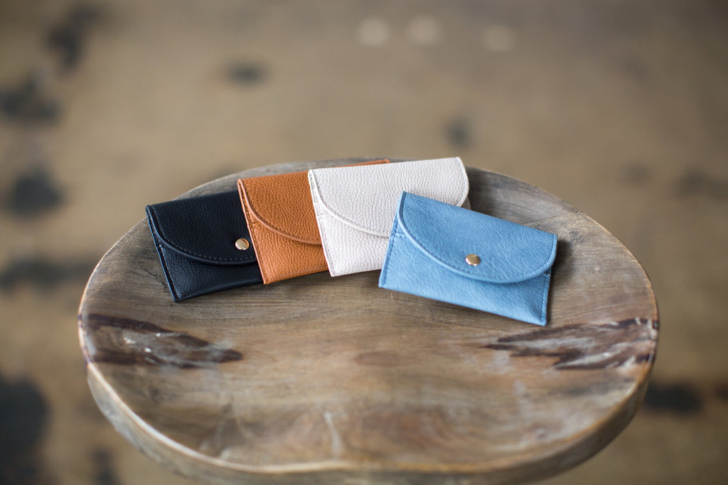 Petite Wallet in 4 Colors