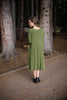 Pocket Kaye Dress in Olive