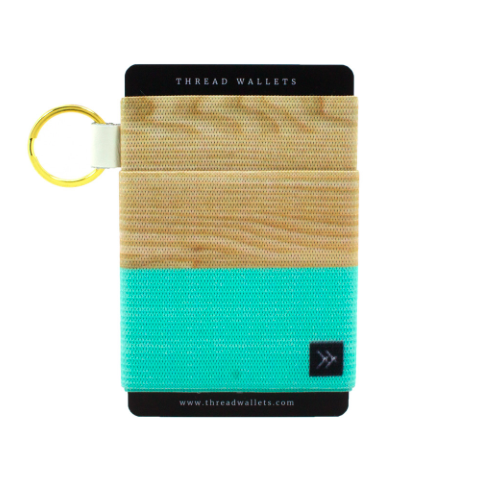 Cyan (Elastic Card Holder)