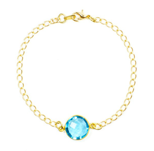 Light Blue Pixie Bracelet