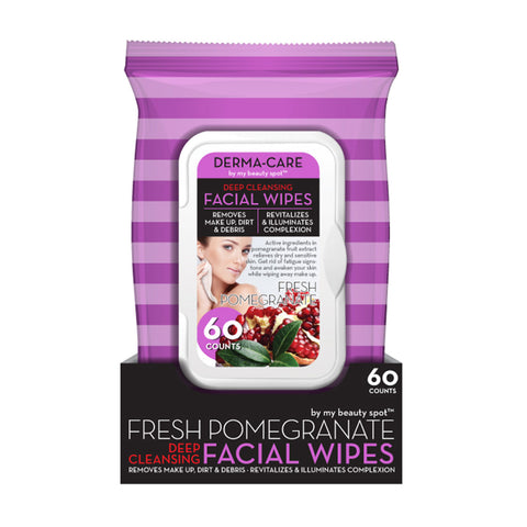 My Beauty Spot Fresh Pomegranate Deep Cleansing Facial Wipes