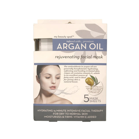 Argan Oil Rejuvenating Facial Mask