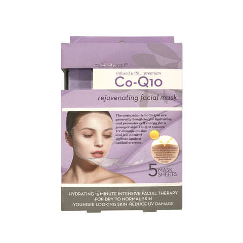 Co-Q10 Rejuvenating Facial Mask