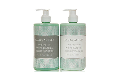 Laura Ashley White Gardenia Hand Care Set