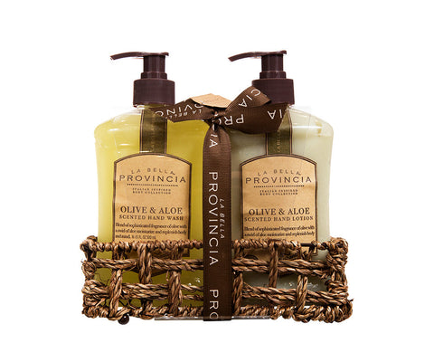 Olive & Aloe Hand Caddy