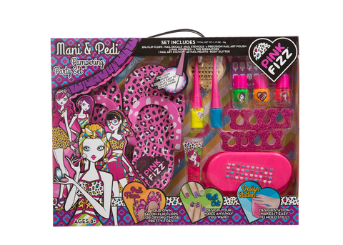 Pink Fizz Mani & Pedi Pampering Party Set
