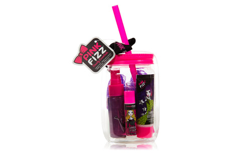 Pink Fizz Mason Jar Bath & Body Collection