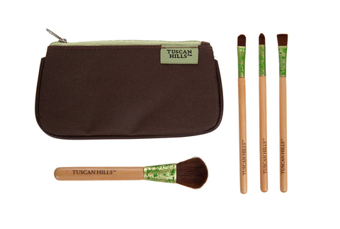 Tuscan Hills 5 Piece Makeup Brush Set