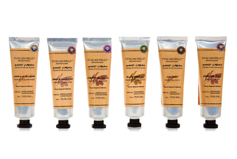 Tuscan Hills Scented Hand Cream Set