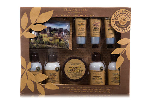 Tuscan Hills Total Body Care Collection