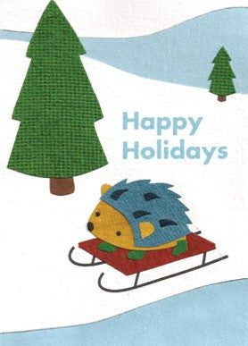 Holiday Hedgehogs