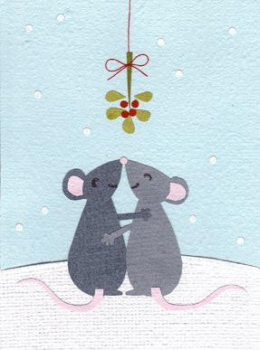 Mistletoe Mice
