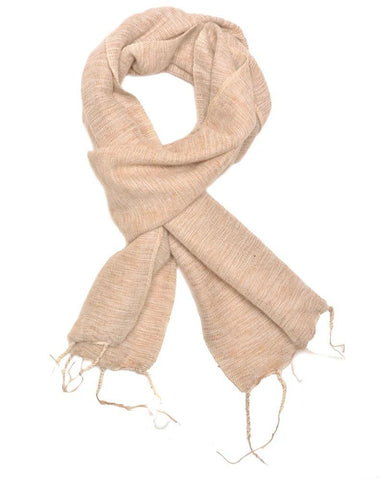 Brushed Woven Scarf | Ash