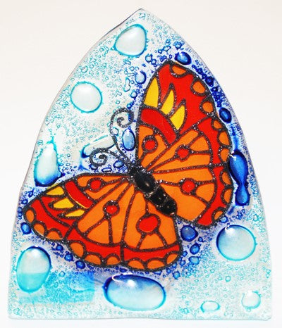 Recycled Glass Night Light  | Butterfly