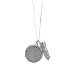 Peacebomb | Jewelgram Necklace Silver | Love is the Bomb