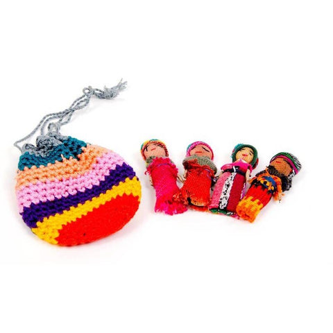 Guatemalan Worry Doll Set