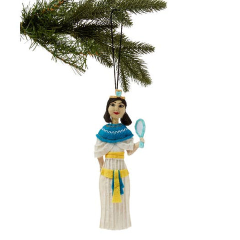 Felted Ornament - Cleopatra