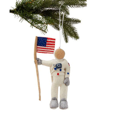 Felted Ornament - Neil Armstrong