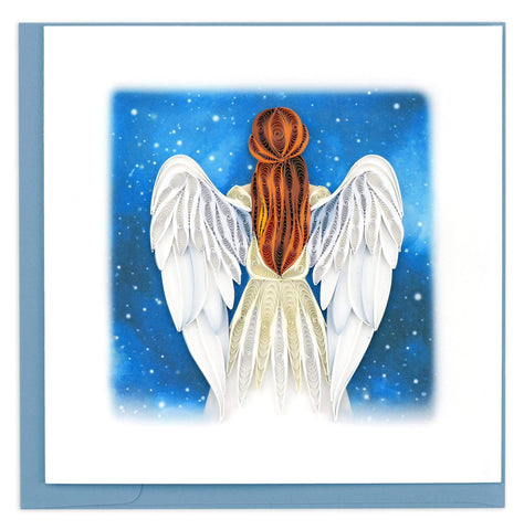 Angel Quilling Card