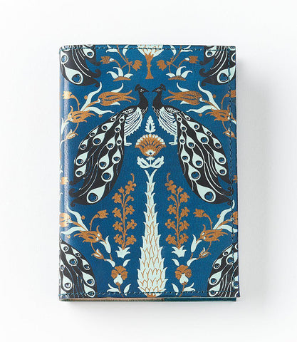Leather Journal | Blue Peacock