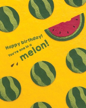 One Melon Birthday