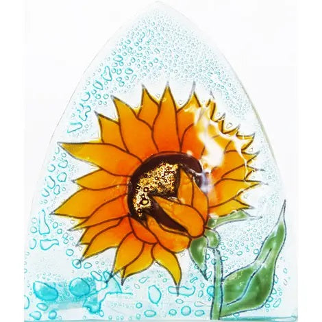 Recycled Glass Night Light  | Sunflower