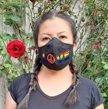 Rainbow Love Face Mask | 2 Sizes