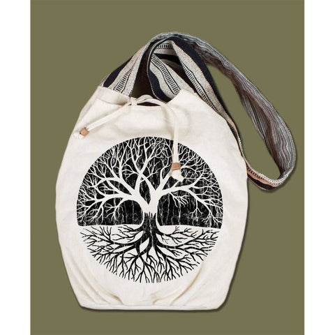 Canvas Boho Bag | Tree of Life
