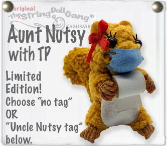 String Doll | Aunt Nutsy (with Mask)