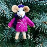 Wool Ornament | Mouse